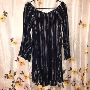 ⭐️Lush Bell Sleeve  Off-Shoulder Dress